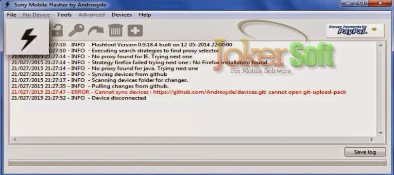 How To Flash Sony Xperia C C2305 With Wmshua : How To Flash