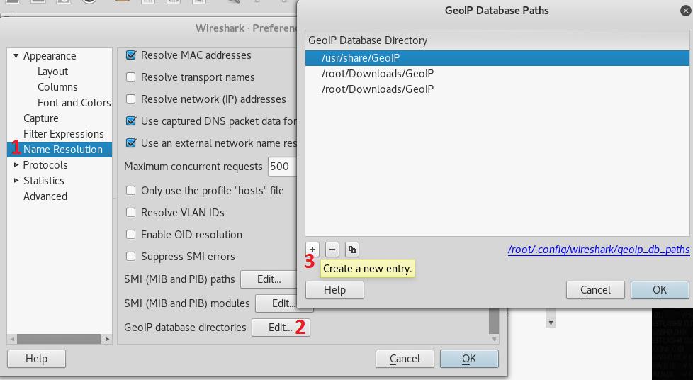Generate Geolocation map using WireShark - KaliTut