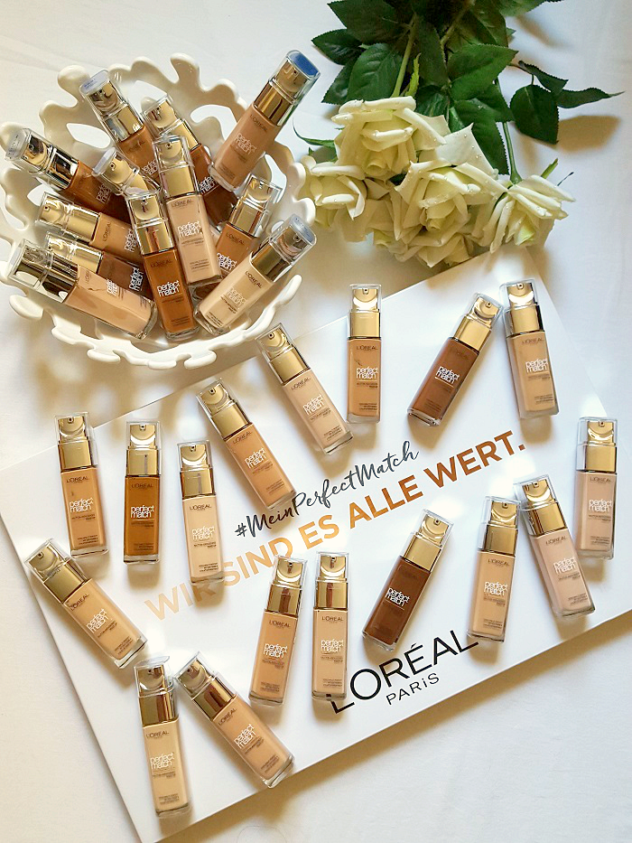 L´Oréal Paris - Perfect Match Foundation - Swatches & Review ...