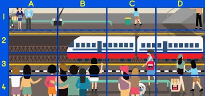 Pocket monsters are clever and often hide in the open, especially in crowded places like train stations. Can you spot one here? Type your answer in below!
