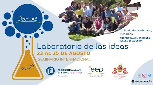 Seminario Internacional para líderes universitarios LiberLAB: Ideas que generan prosperidad