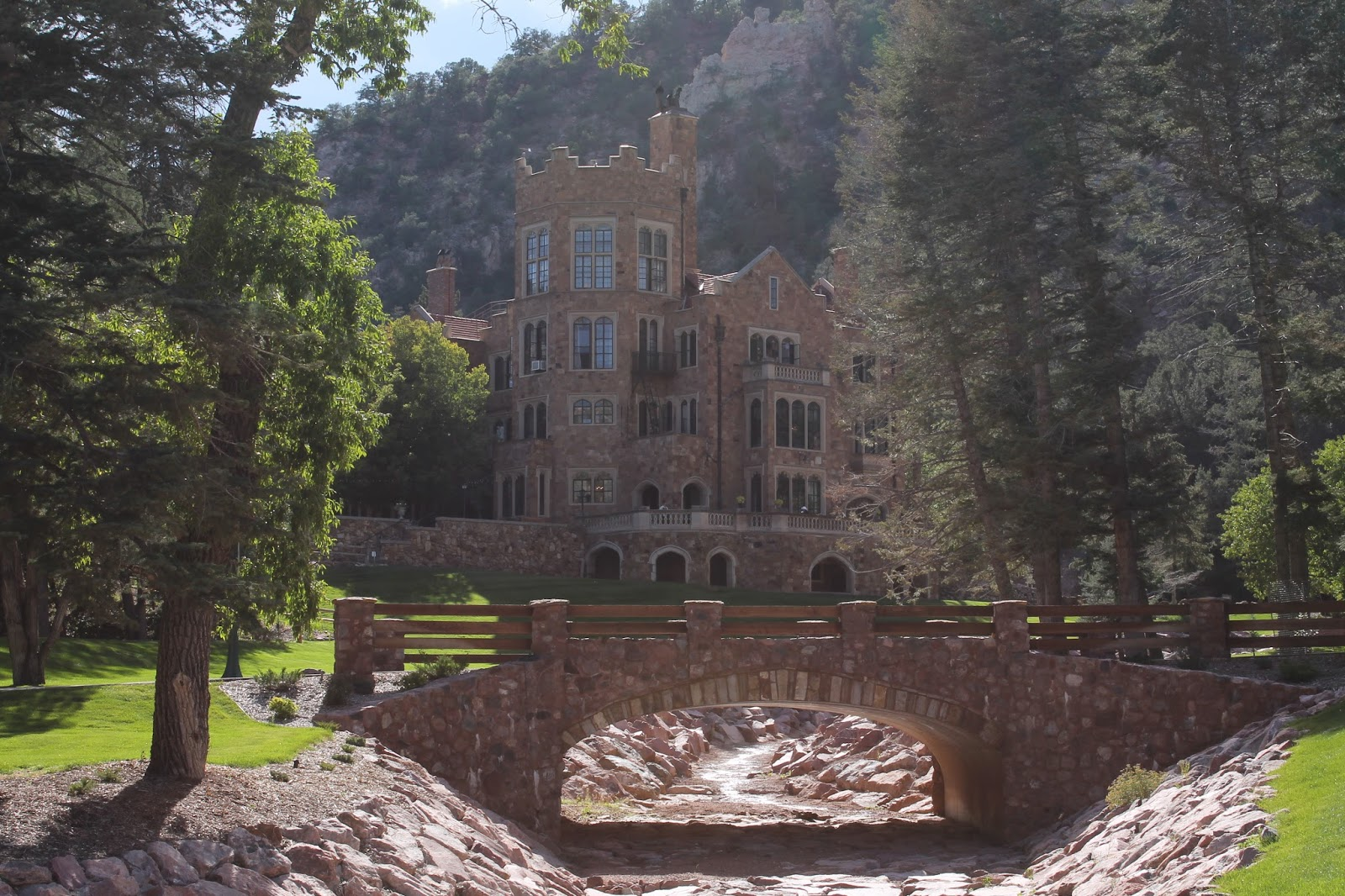Real Life Army Wife Glen Eyrie Castle