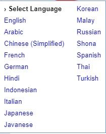 Hướng dẫn thêm tiện ích Google Translate vào Blogspot mới 2021