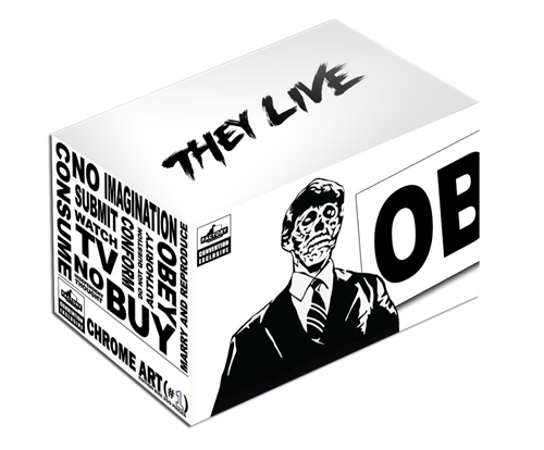 The Blot Says Sdcc 2020 Exclusive They Live Candidate Chrome Art Statue By Factory Entertainment