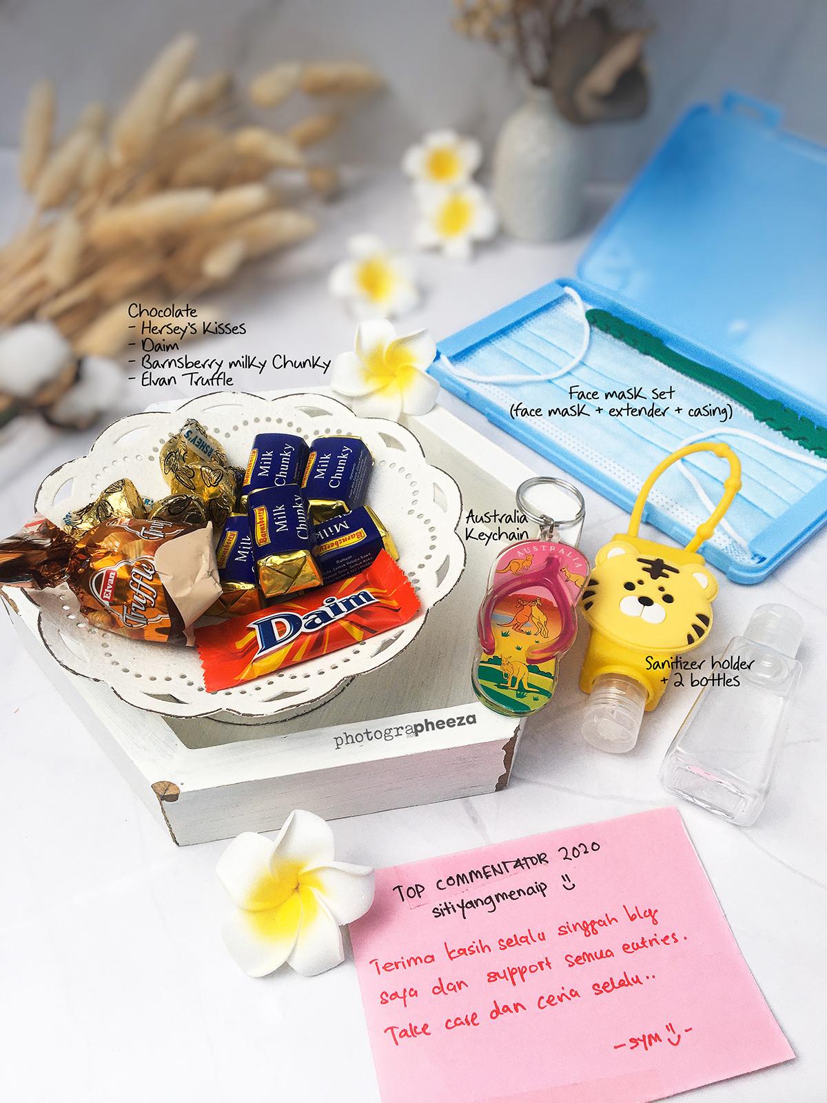 Hadiah dari blogger Siti Yang Menaip