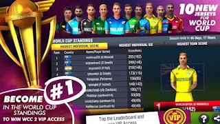 Descargar World Cricket Championship 2 MOD APK 2.8.8.6 VIP GRATIS para android 2020 2