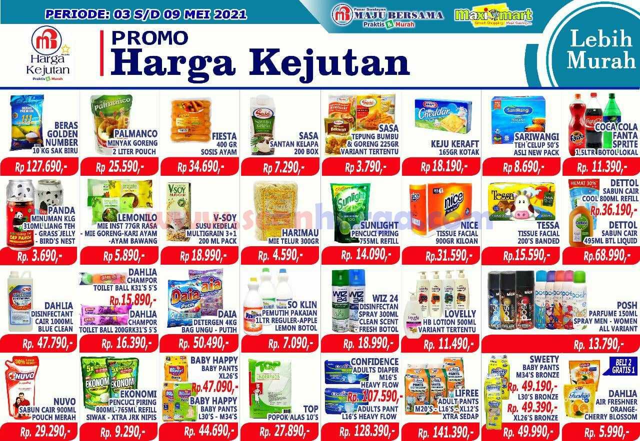 Katalog Promo Maximart Pasar Swalayan 3 - 9 Mei 2021