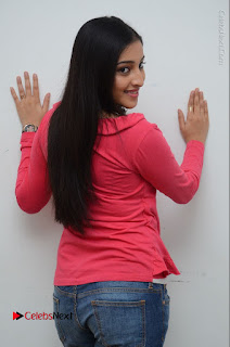 Telugu Actress Mouryani Latest Pos in Blue Denim Jeans  0084.JPG