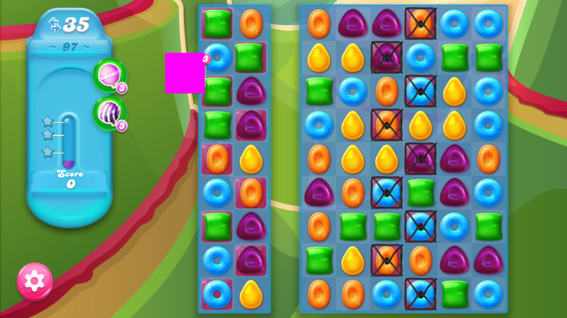 Candy Crush Jelly Saga 97