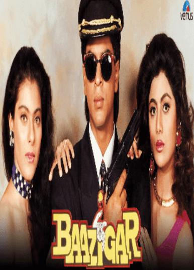 Baazigar 1993 Full Hindi Movie Download DVDRip 720p