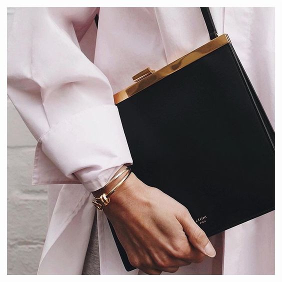 Celine Mini Clasp Bag