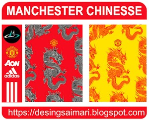 Manchester United Dragón Chinese