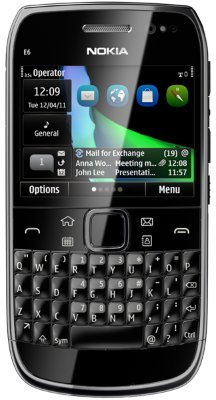 Nokia E6 now available in the U.K.