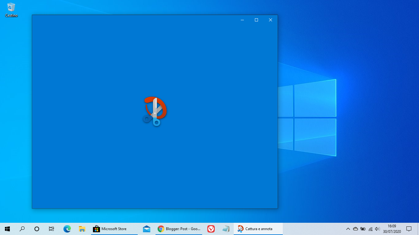 Nuova icona per Cattura e annota anche in Windows 10 stabile