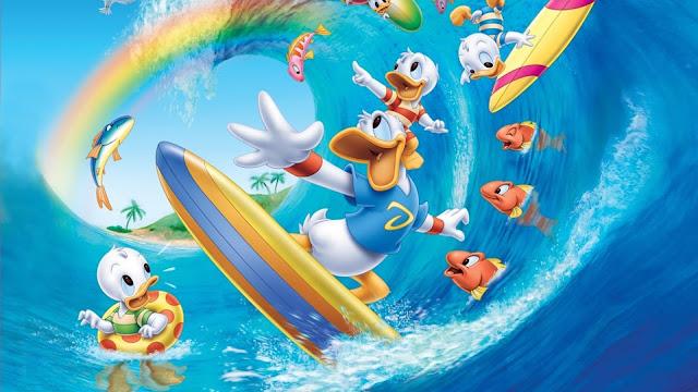 Papel de Parede Tema Pato Donald, hd, 4k.