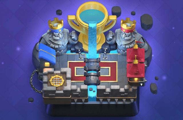akun clash royale gratis arena 11