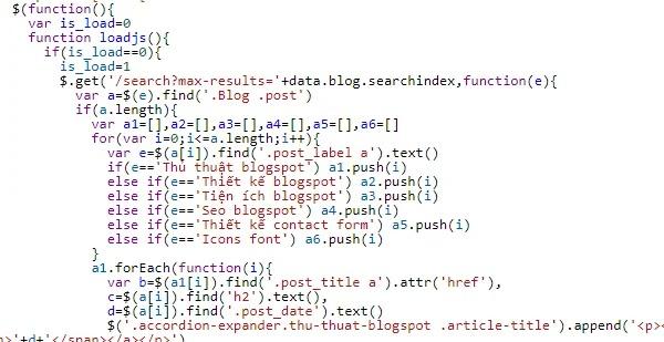 blogger jquery get script