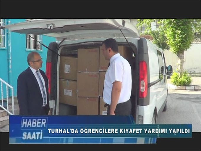 TURHAL'DA İHTİYAÇ SAHİBİ ÖĞRENCİLERE KIYAFET YARDIMI YAPILDI
