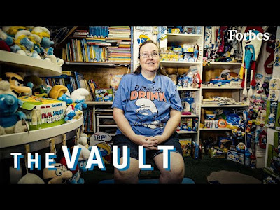 The $100,000 Smurfs Collection Is The Biggest In The World | The Vault | Forbes