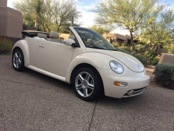 Volkswagen New Beetle Convertible Turbo