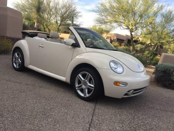 Volkswagen New Beetle Convertible Turbo