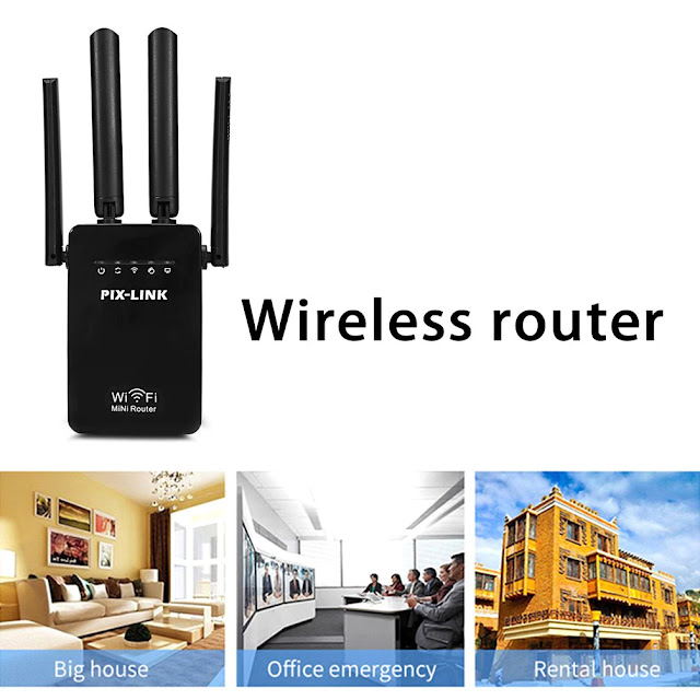 1200Mbps WiFi Range Extender Repeater Signal Booster Dual Band Technology High Safety Powerful Signal Wireless Amplifier Router