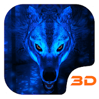 Ice Wolf 3D Theme Apk free Download for Android