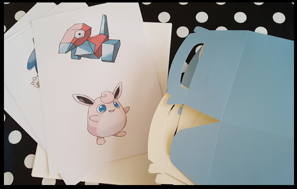 Pokemon images for Party Boxes