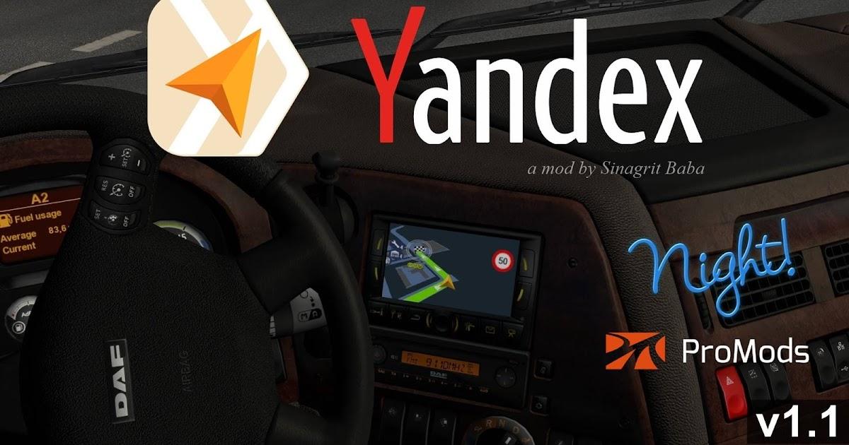 Sinagrit Baba's Workshop: ETS 2 - Yandex Navigator Night