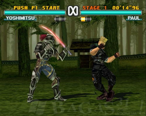 Game Tekken 3 + Emulator 3