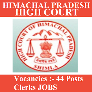 High Court of Himachal Pradesh, high court, HP, Himachal   Pradesh, Graduation, Clerk, freejobalert, Sarkari Naukri, Latest Jobs, hpsc logo