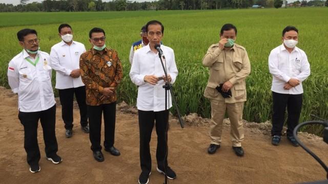 Di Tengah Gelombang Demo, Jokowi Bicara dari Jeruk Hingga Itik
