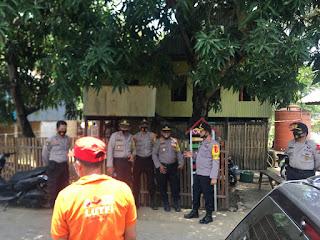 Kapolres Pangkep pantau Langsung Pelaksanaan Kampanye di tiga Kecamatan