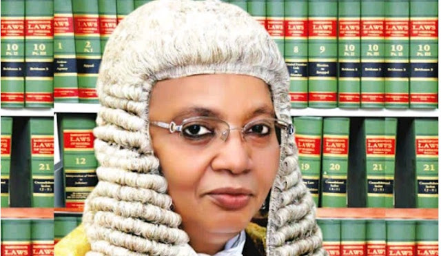"""""""She's APC senator-elect's wife  PDP asks Appeal Court president to withdraw from presidential tribunal"""