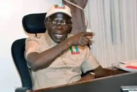 Oshiomhole To Obaseki, Campaign With Your Achievement, Stop Using What I Said About Ize iyamu Years Ago.
