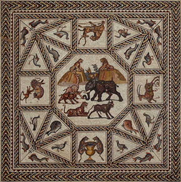 Unearthing a Masterpiece: A Roman Mosaic from Lod, Israel at the Penn Museum