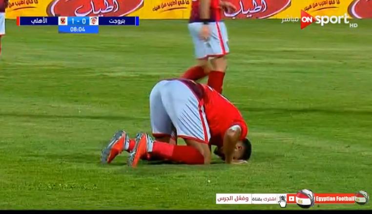 ملخص واهداف مباراة  الاهلي وبتروجيت مؤجلة من الاسبوع التاسع الدوري المصري