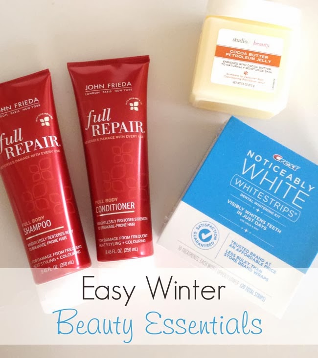 Easy Winter Beauty Essentials- Great products for your winter beauty routine