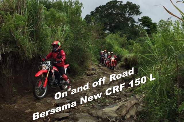 On_And_Off_Road_With_New_CRF_150L