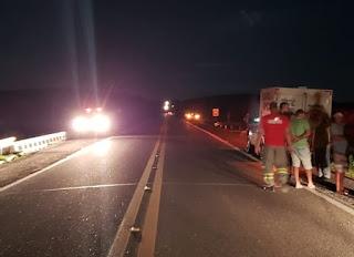 Acidente na BR-230 próximo a São Mamede deixa um saldo de uma pessoa morta