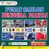 Cetak Sablon Bendera Partai Politik Murah di Ciracas, Jakarta Timur