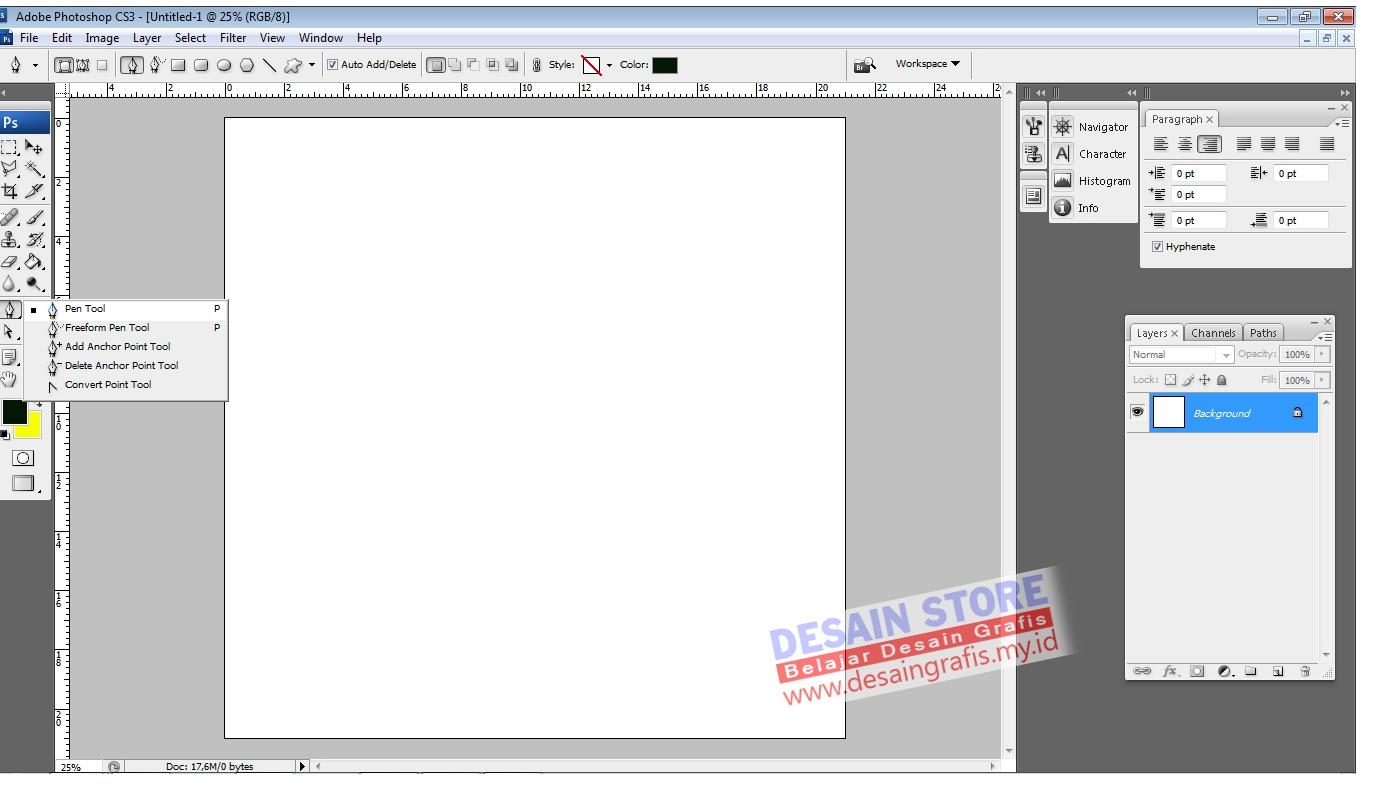 Tutorial photoshop aplikasi pen tool cara membuat efek teks dan langkah pertama kita akan mulai dengan menggunakan salah satu tools yang ada di photoshop yaitu pen tool seperti pada tampilan berikut ini baditri Choice Image