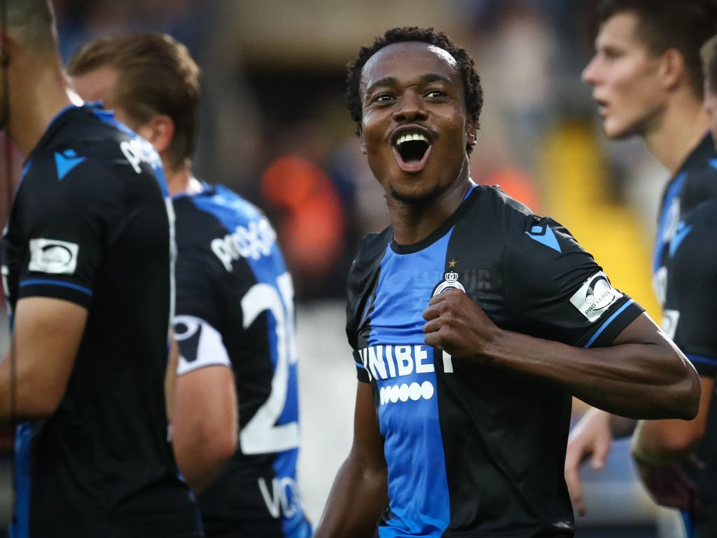Percy Tau signed for Club Brugge