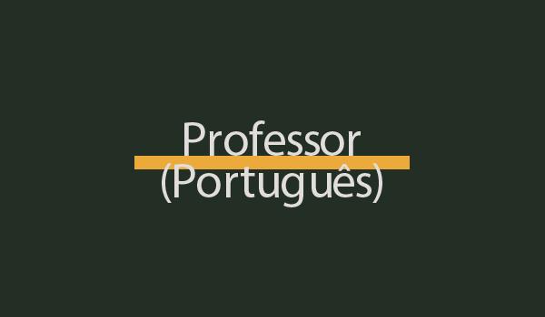 Prova de Concurso para Professor (Português) com Gabarito
