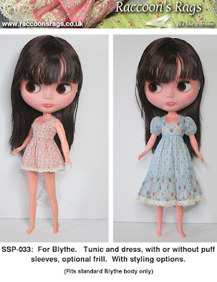 Blythe sewing patterns