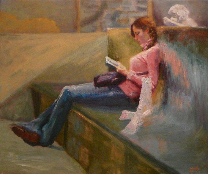 Польский художник. Irena Jablonski