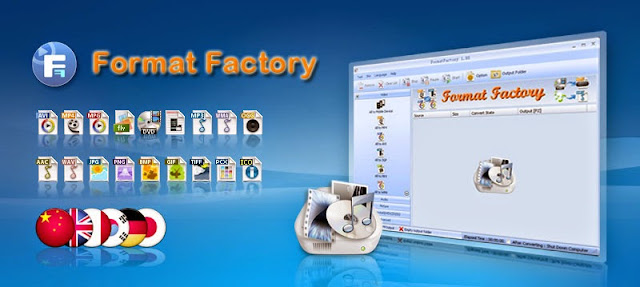 تحميل برنامج فورمات فاكتورى Format Factory مجانا