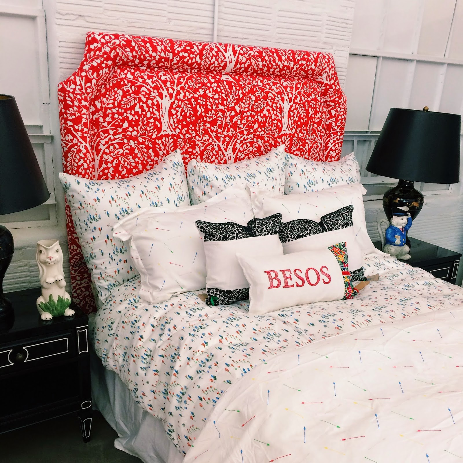 Trendy in Texas, Biscuit Home, Houston, Houston, TX, Montrose, #BiscuitPaintWall, Biscuit Paint Wall, Bedding