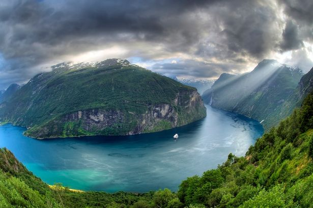 Geiranger Fjord, Norwegia