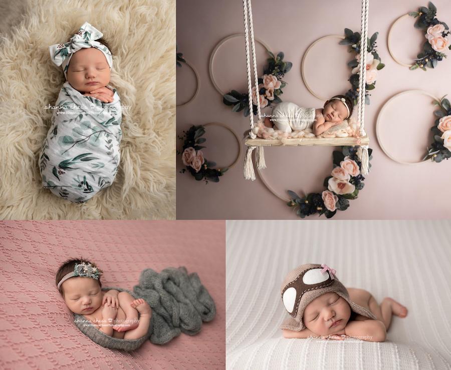 Newborn photo shoot Eugene newborn photographer